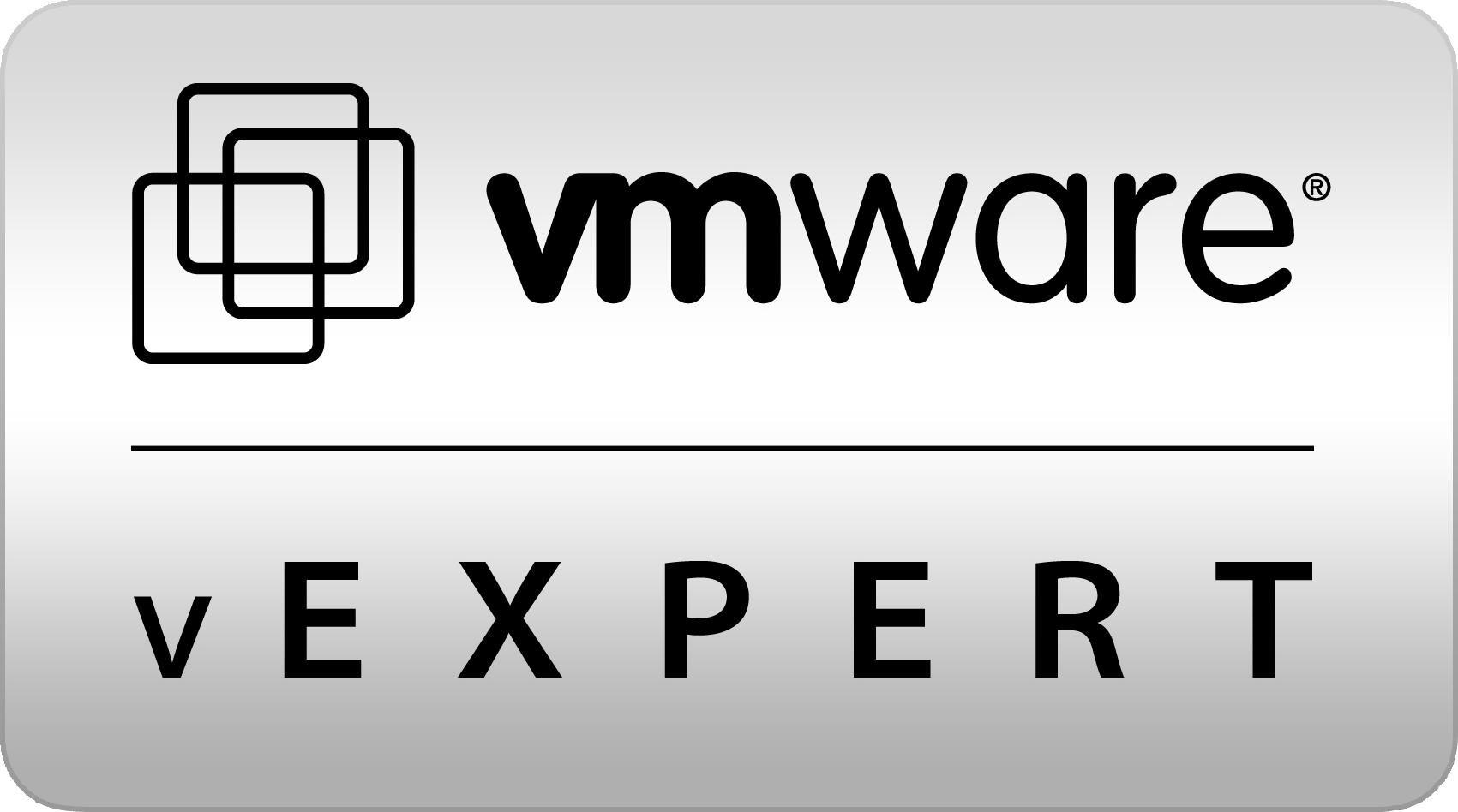 VMware vExpert!